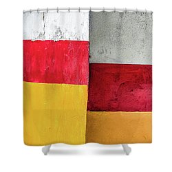Rectangles With Presence Shower Curtain