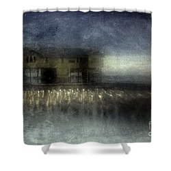 Recurrent Dream Shower Curtain by Andrew Paranavitana