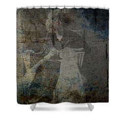 Recurring Shower Curtain