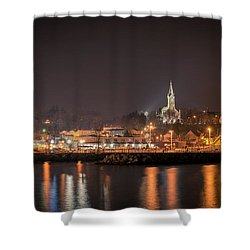 Red 1860 Shower Curtain