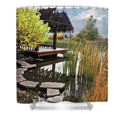Red Butte Gardens Shower Curtain