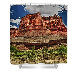 Red Butte Shower Curtain