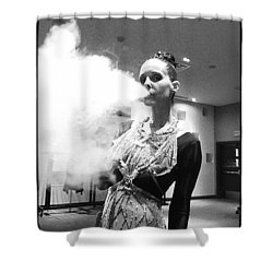 Shower Curtain featuring the photograph Red Carpet Vapeing  by Lisa Piper