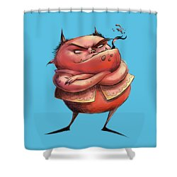 Red Devil Shower Curtain