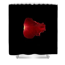 Red Fire Shower Curtain