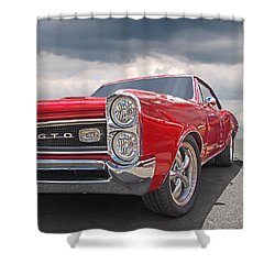 Red Gto Shower Curtain
