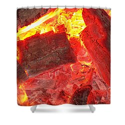 Shower Curtain featuring the photograph Red Hot by Betty Northcutt