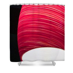 Red Light Cafe Shower Curtain