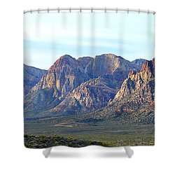 Shower Curtain featuring the photograph Red Rock Canyon - Scale by Glenn McCarthy Art and Photography