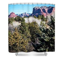 Red Rock Country Shower Curtain