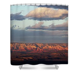 Shower Curtain featuring the photograph Red Rock Crossing, Sedona by Ron Chilston