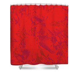 Shower Curtain featuring the photograph Red Rules by Nareeta Martin