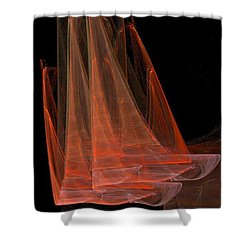 Red Sails Shower Curtain