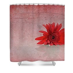 Red Scent Shower Curtain