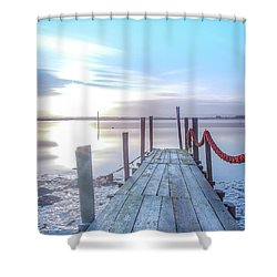 Shower Curtain featuring the photograph Red Vs Blue by Bruno Rosa