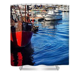 Shower Curtain featuring the photograph Red White Blue by Kendall McKernon