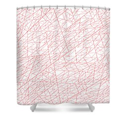 Red.278 Shower Curtain