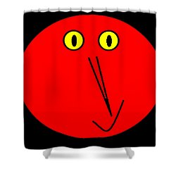 Reddddyyy Shower Curtain by Cletis Stump