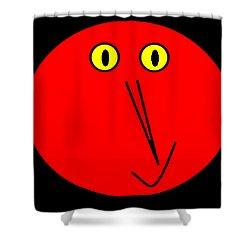 Reddddyyy Shower Curtain