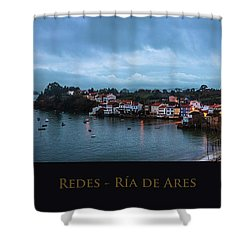 Redes Ria De Ares La Coruna Spain Shower Curtain