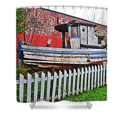 Redneck Dry Dock Shower Curtain