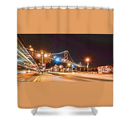 Red's Java House Shower Curtain