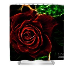 Red's Passion Shower Curtain