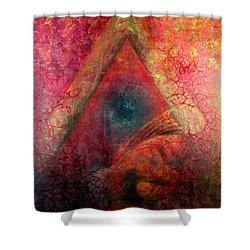 Redstargate Shower Curtain