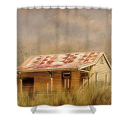 Shower Curtain featuring the photograph Redundant by Wallaroo Images