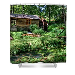 Reed's Mill Shower Curtain by John Gilbert