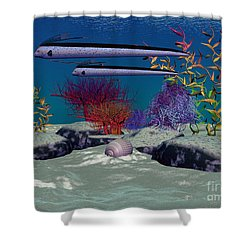 Reef Shower Curtain by Corey Ford