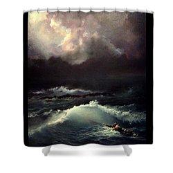 Reef Shower Curtain by Mikhail Savchenko