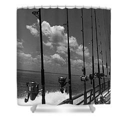 Reel Clouds Shower Curtain