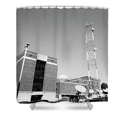 Reese Phifer Hall, Rear View, 2017 Shower Curtain