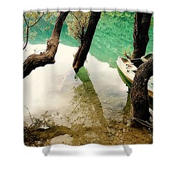 Refection Shower Curtain