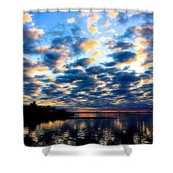 Refelections  Shower Curtain