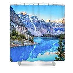 Reflect On Nature Shower Curtain by James Heckt