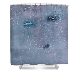 Self-examination Shower Curtain