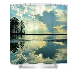 Reflected Bliss Shower Curtain