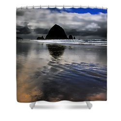 Reflected Glory Shower Curtain by David Patterson