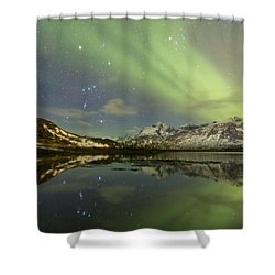 Reflected Orion Shower Curtain