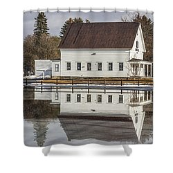 Reflected Town House Shower Curtain