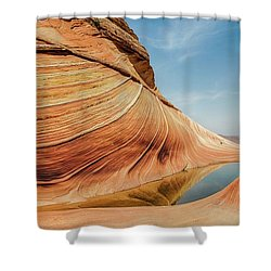 Reflected Wave Shower Curtain