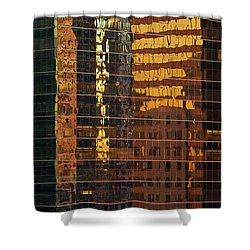 Reflecting Chicago Shower Curtain by Steve Gadomski