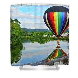 'reflecting' Shower Curtain