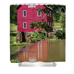 Starrs Mill Reflection Shower Curtain