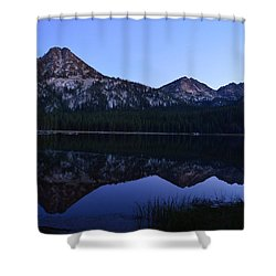 Reflection At Dusk Shower Curtain