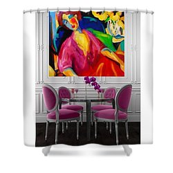 Reflection Shower Curtain by Heather Roddy