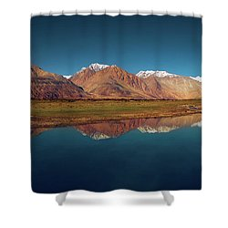 Reflection Shower Curtain by Marji Lang