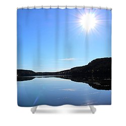Reflection Of The Lake Shower Curtain